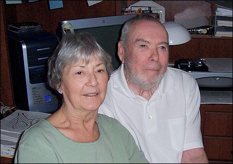 Gretchen Kresl and Jon Hassler