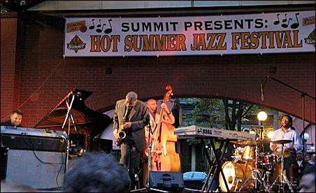 Saxophonist Kenny Garrett