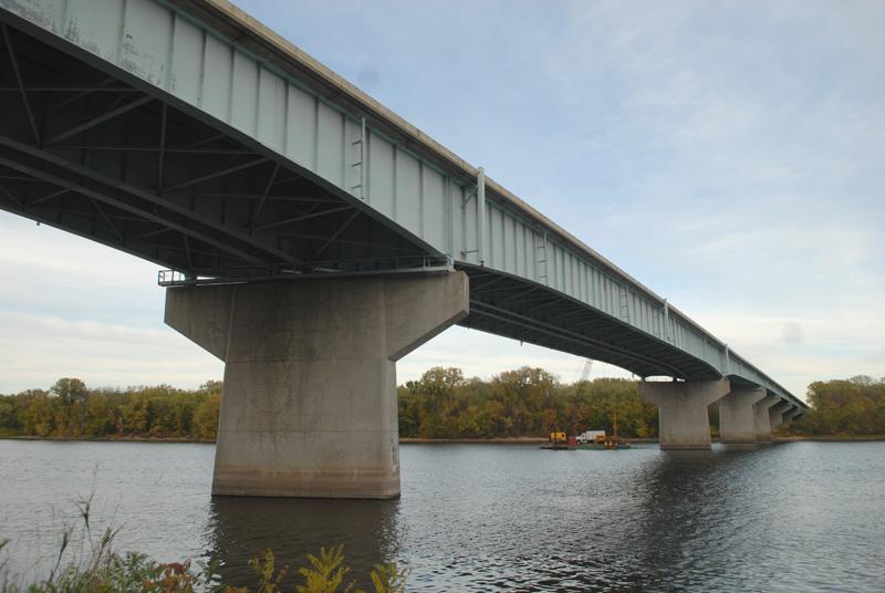 I-90 bridge near Dresbach/Photo by Alissa Haupt