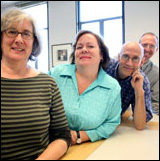 Visual Resources Center staff members