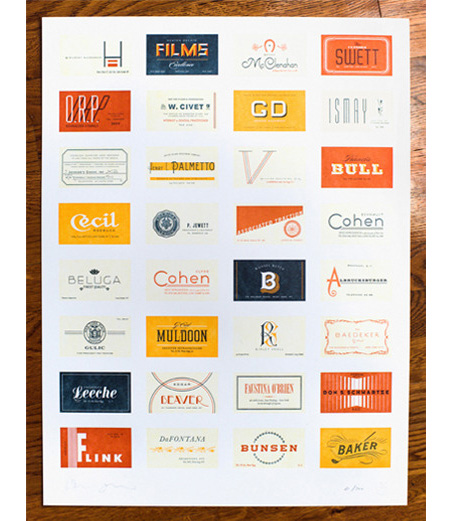 """""""Great Gatsby"""" business cards"""