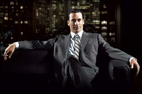 "The man in the gray flannel suit: ""Mad Men's"" Don Draper"