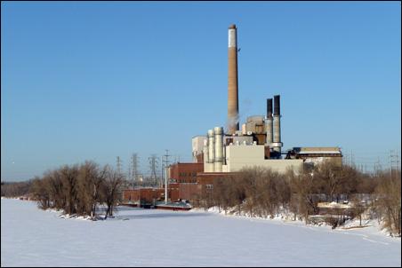 The Riverside power plant