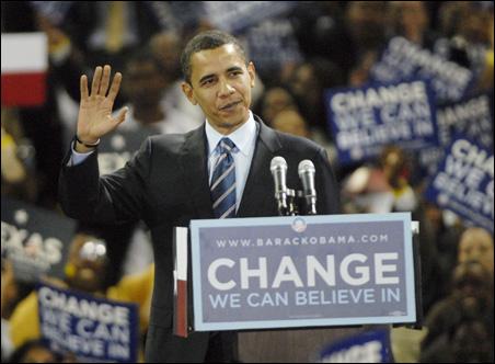 Barack Obama in Houston
