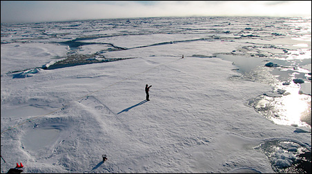 Some scientists worry the warming could melt substances called methane hydrates trapped in the frozen floor.