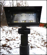 New low-impact lights at Lake Elmo ski trails may get little use this year.