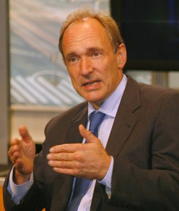portrait of tim berners lee