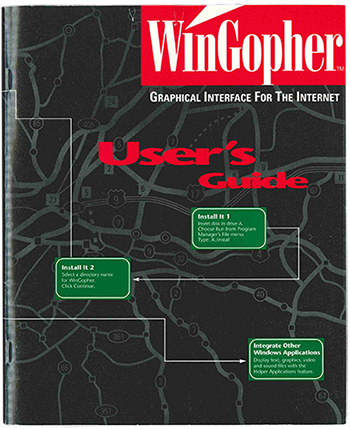 cover of wingopher user's guide