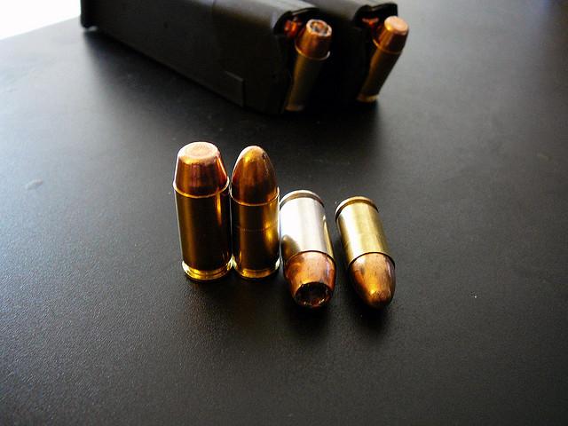 photograph of ammunition