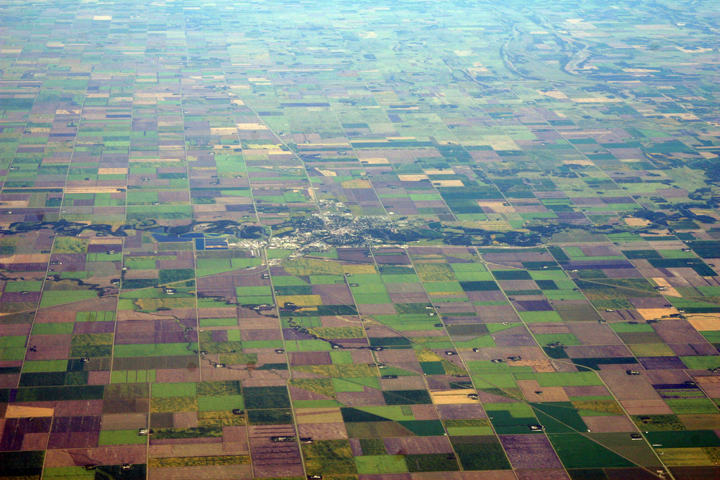 aerial photo of crookston