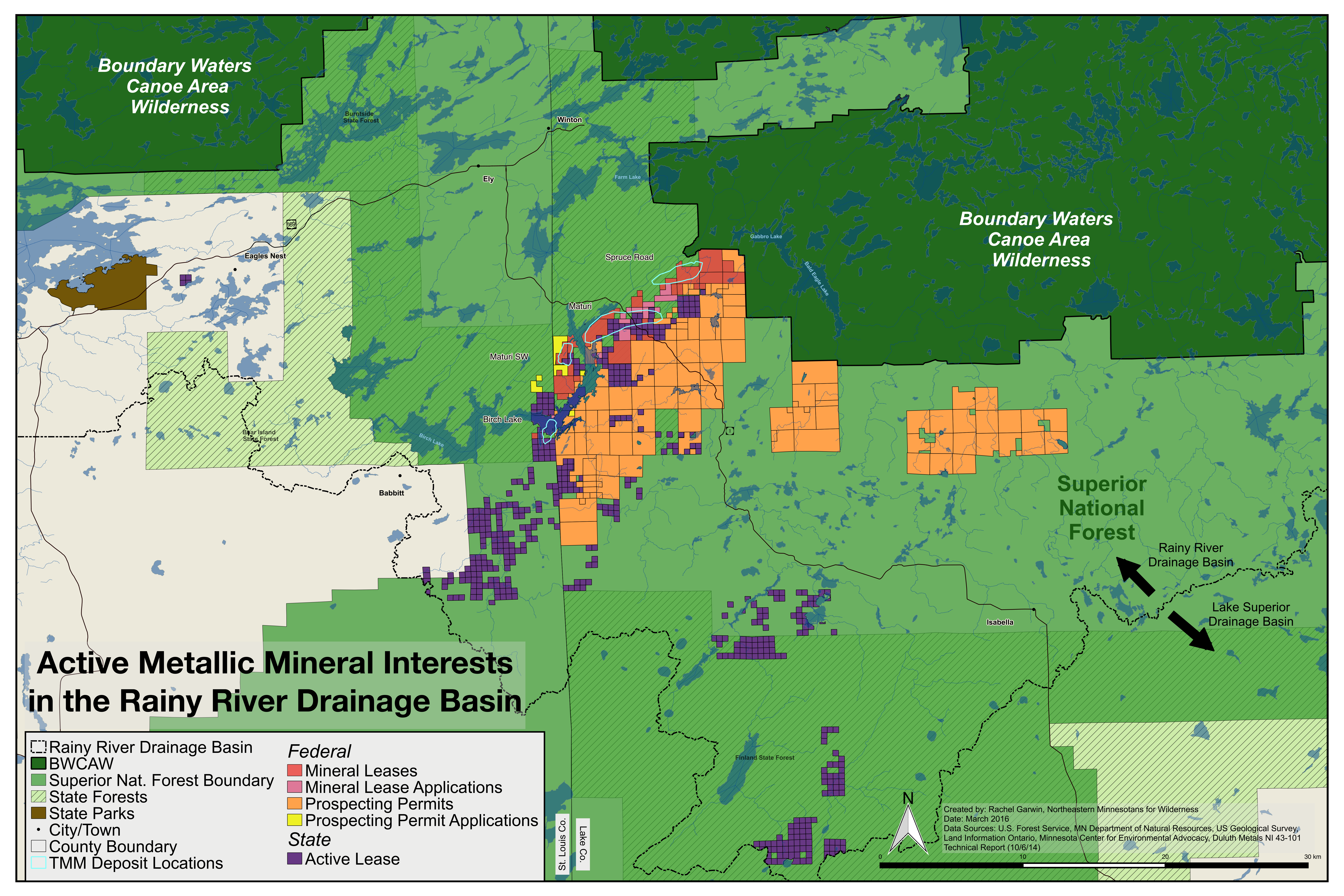 Two Big Setbacks For Efforts To Mine Copper Beside The Boundary