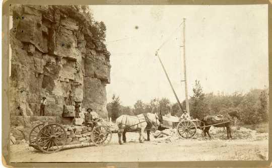 stone quarrying
