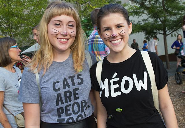 Attendees of last year's Internet Cat Video Festival