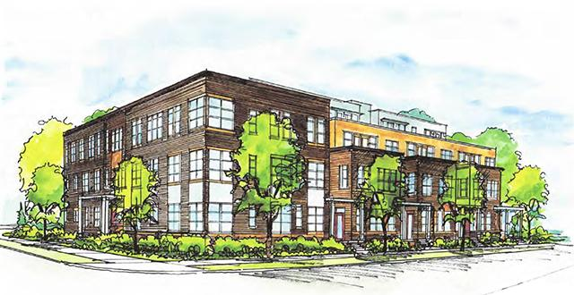 2320 Colfax Ave. S. apartment rendering