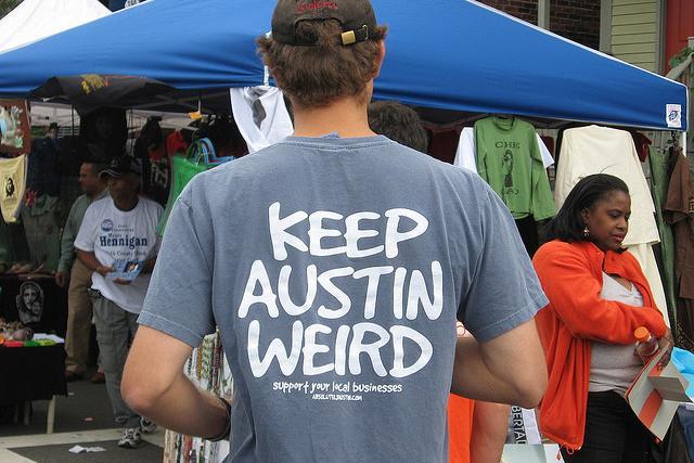 keep austin weird t shirt photo