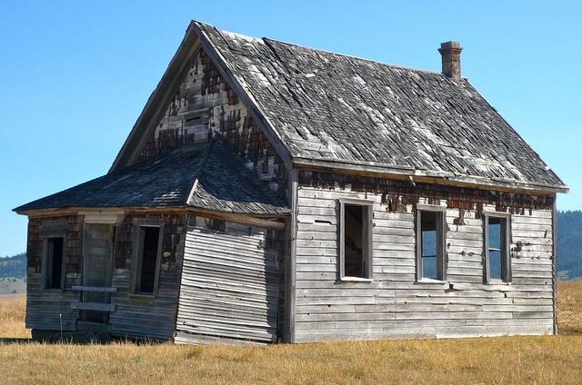 ramshackle schoolhouse