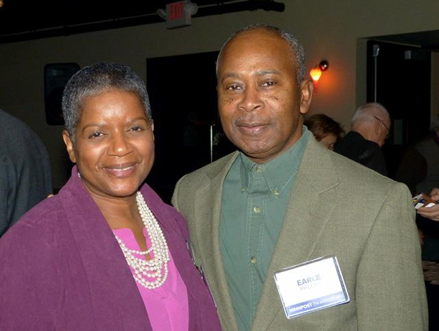 Marsha Pitts-Phillips and Earle Phillips