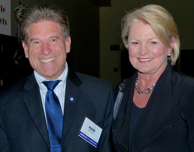 Secretary of State Mark Ritchie and MinnPost boardmember Vernae Hasbargen
