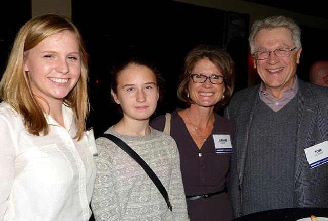 Amanda Horner, Lauren Taylor, Jeanne Massey and Tom Horner