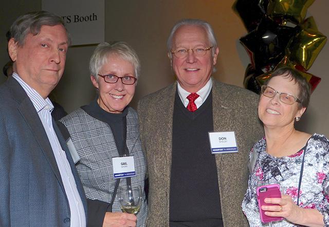 Joel Kramer, Gail Shore, Don Shelby and Laurie Kramer