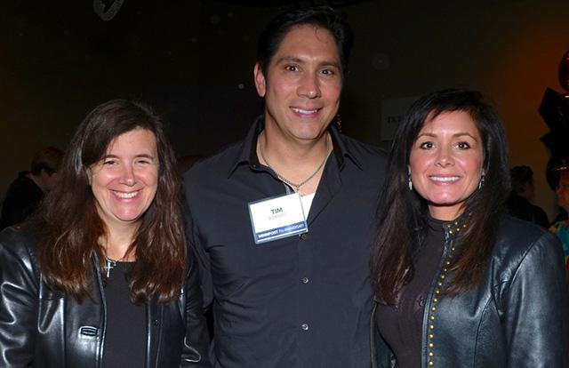 Jennifer Risdall with Tim and Sara Dziedzic