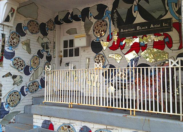 The MBAD African Bead Museum, owned by artist Olayami Dabls.