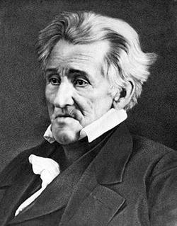 Andrew Jackson in 1845