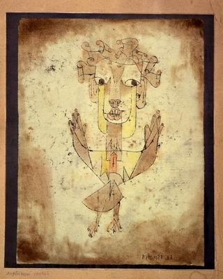 """""""Angelus Novus"""" by Paul Klee"""