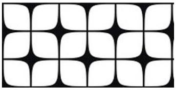 The art deco design pattern for the creative crosswalks.