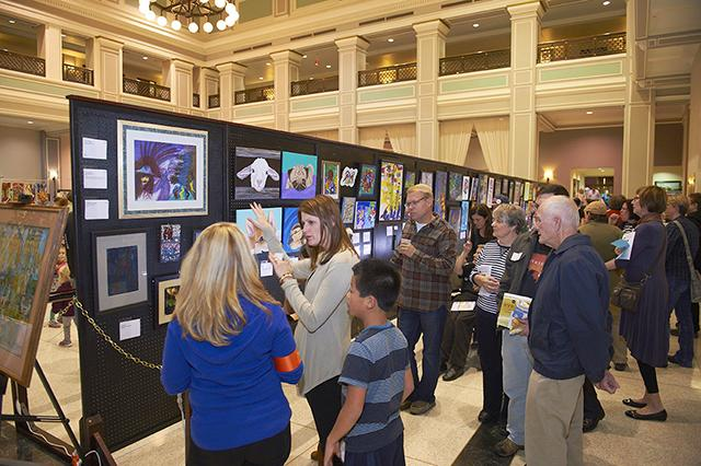 People Incorporated's 20th-anniversary Artability show.