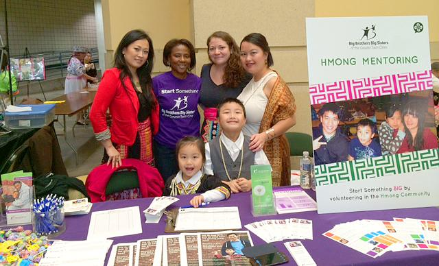 BBBS staff at the 2013 River Centre Hmong New Year