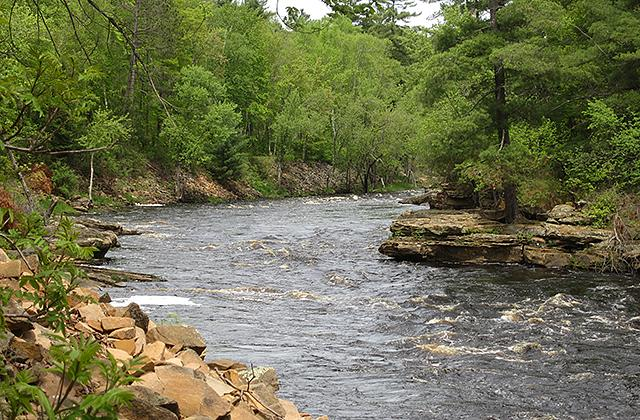 Banning State Park river