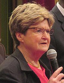Council President Barbara Johnson