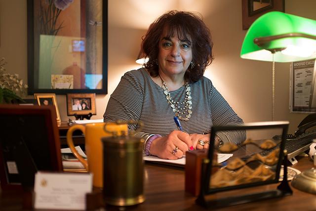 Barbara Harper does casework for Sixth District Rep. Tom Emmer.