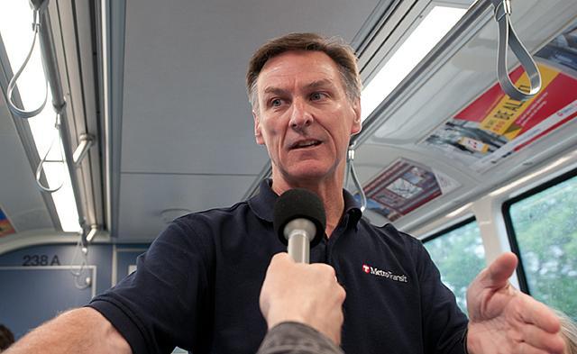 Brian J. Lamb, Metro Transit's general manager