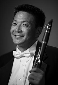 Clarinetist Burt Hara