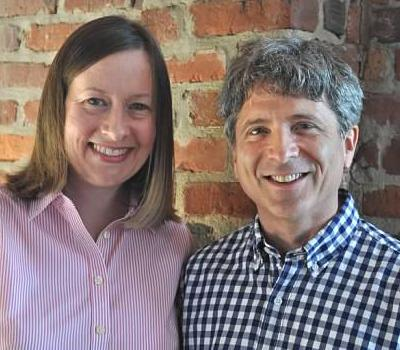 Caroline Whiddon and Ronald Braunstein, founders of Me2/Orchestra.