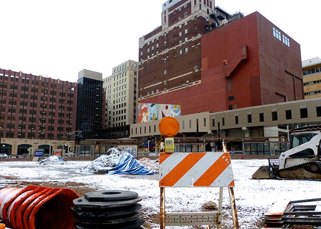 Central Station, corner of 5th Street and Minnesota Street, downtown St. Paul