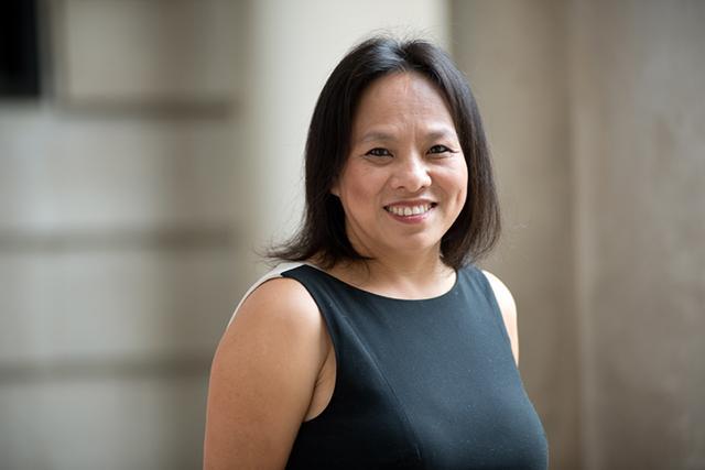 Como Principal Christine Vang
