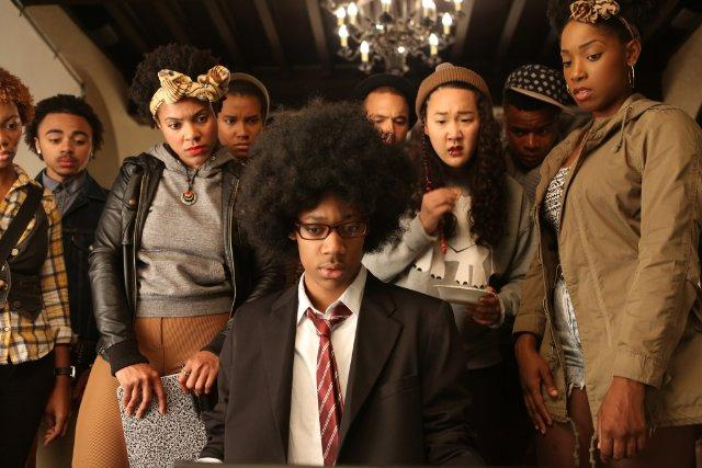 "An image from ""Dear White People,"" the last movie filmed in Minnesota"