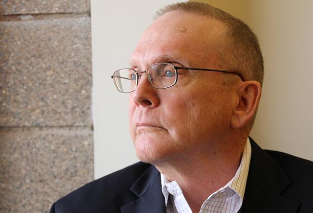 Dennis Virden, of Burnsville, a friend of Steve Smith's