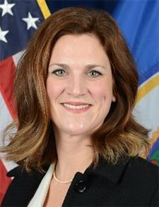 Human Services Commissioner Emily Johnson Piper