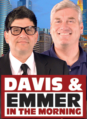 Promotional ad for Bob Davis and Tom Emmer's radio show