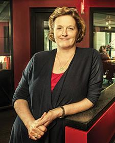 Ginny Morris, chair and CEO of Hubbard Radio