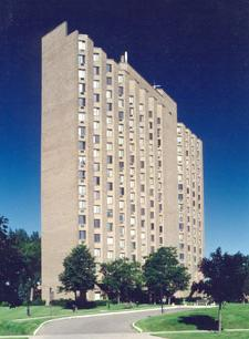 Hamline Hi-Rise at 777 North Hamline Ave., in St. Paul.