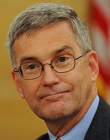 Republican minority leader David Hann