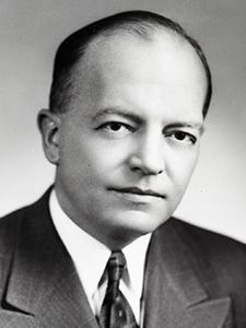 Minnesota Gov. Harold Stassen