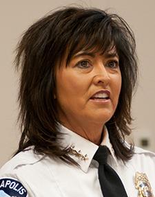 Police Chief Janeé Harteau