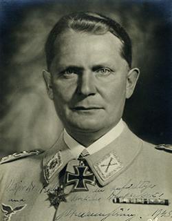 Luftwaffe chief Hermann Göring
