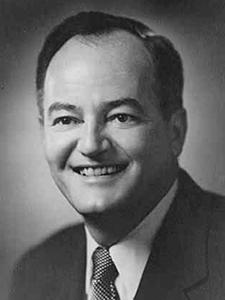 Sen. Hubert H. Humphrey, circa 1965